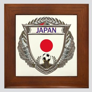 Japan Soccer Gym Bag Framed Tile