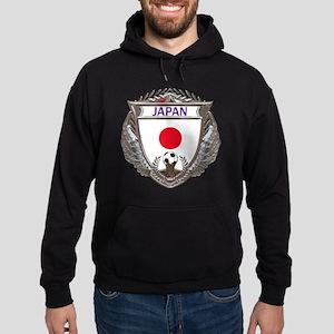 Japan Soccer Gym Bag Hoodie (dark)