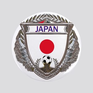 "Japan Soccer Gym Bag 3.5"" Button"