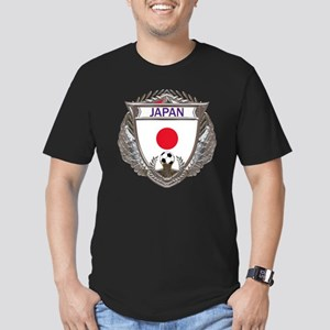 Japan Soccer Gym Bag Men's Fitted T-Shirt (dark)