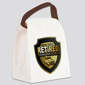 Born 1946 12x12 Canvas Lunch Bag