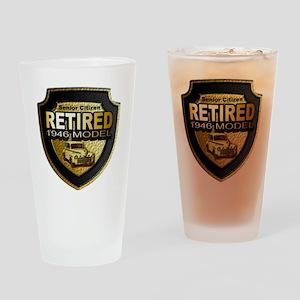 Born 1946 12x12 Drinking Glass