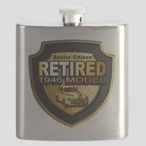 Born 1946 12x12 Flask