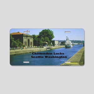 Chittenden Locks Seattle Wa Aluminum License Plate