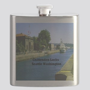 Chittenden Locks Seattle Washington 15.35 Flask