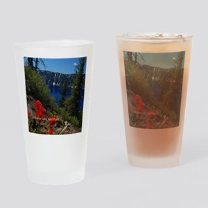 Crater Lake Natl Park Drinking Glass