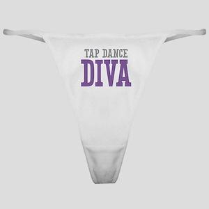 Tap Dance DIVA Classic Thong