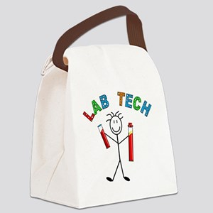 LAB TECH STICKMAN Canvas Lunch Bag
