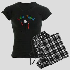 LAB TECH STICKMAN Women's Dark Pajamas