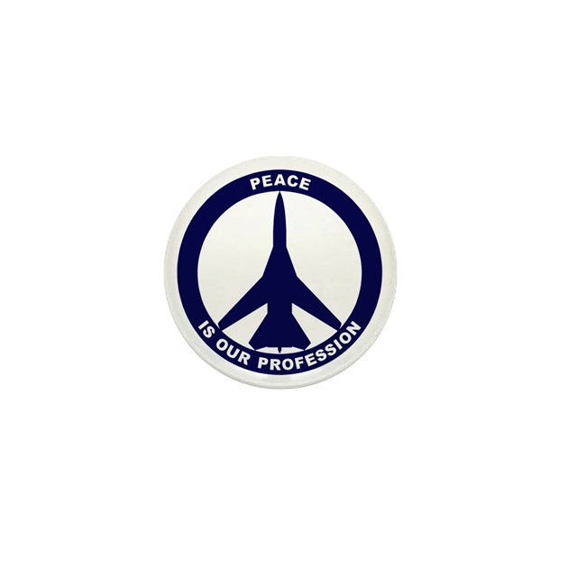 Peace Is Our Profession Fb 111 Navy Mini Button By Admincp20428695