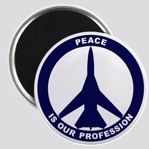 Peace Is Our Profession - FB-111 Navy Blue Magnet