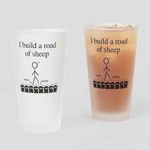 roadofsheep Drinking Glass