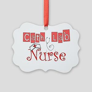 Cath Lab Nurse Picture Ornament