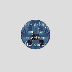 Patchwork Life Mini Button