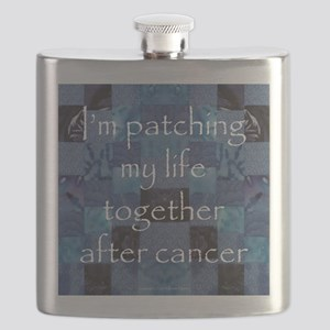 Patchwork Life Flask