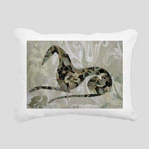 Flora Rectangular Canvas Pillow