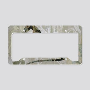 Flora License Plate Holder