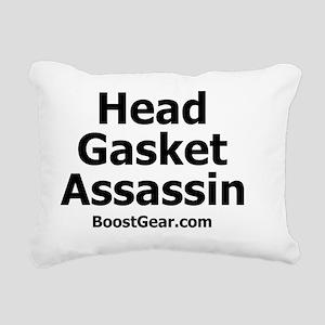 BoostGear - Head Gasket  Rectangular Canvas Pillow