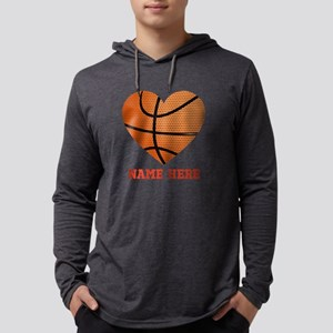 Basketball Love Personalized Mens Hooded Shirt