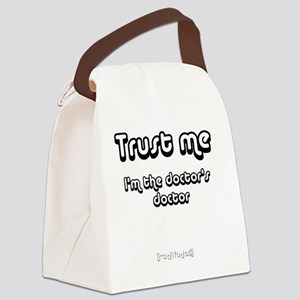trustme t1 Canvas Lunch Bag