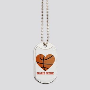 Basketball Love Personalized Dog Tags