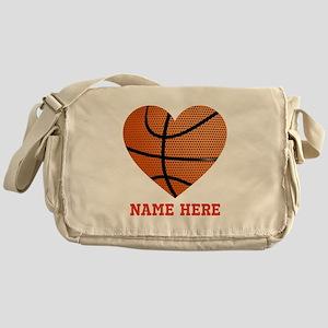 Basketball Love Personalized Messenger Bag
