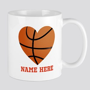 Basketball Love Personalized 11 oz Ceramic Mug