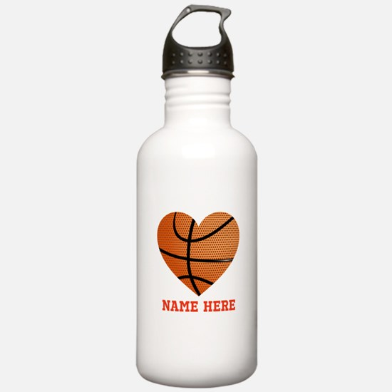 Basketball Love Person Water Bottle
