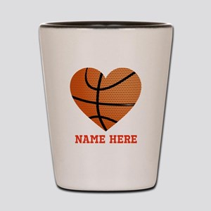 Basketball Love Personalized Shot Glass