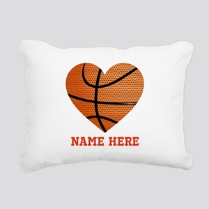 Basketball Love Personal Rectangular Canvas Pillow