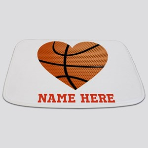Basketball Love Personalized Bathmat