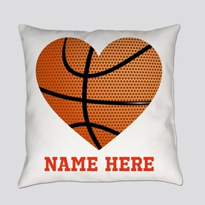 Basketball Love Personalized Everyday Pillow