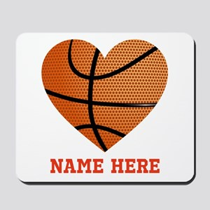 Basketball Love Personalized Mousepad