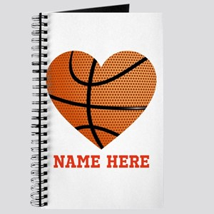 Basketball Love Personalized Journal