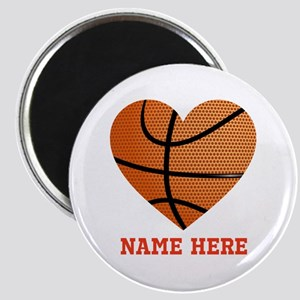 Basketball Love Personalized Magnet