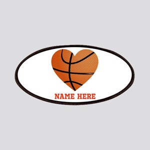 Basketball Love Personalized Patch