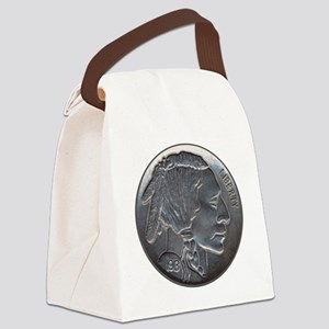 NickleIndian-C8trans Canvas Lunch Bag