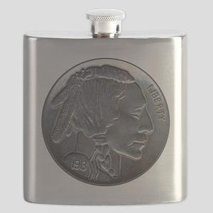 NickleIndian-C8trans Flask