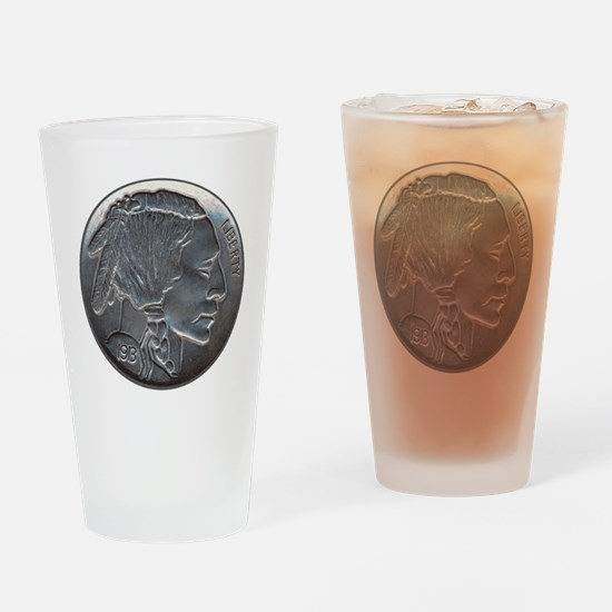 NickleIndian-C8trans Drinking Glass