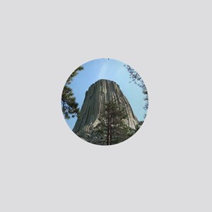 Devils Tower Mini Button