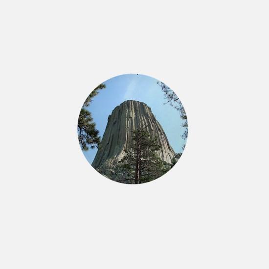 Devils Tower Mini Button