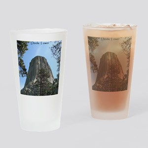 Devils Tower Drinking Glass