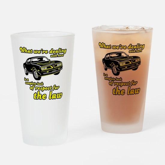 2-transam1 Drinking Glass