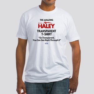 2-HALEY T-SHIRT Fitted T-Shirt