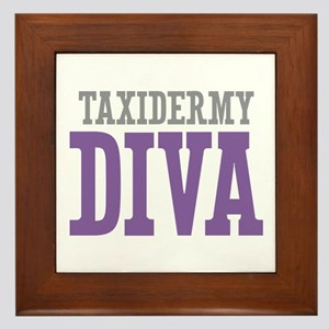 Taxidermy DIVA Framed Tile