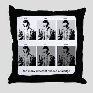 shadeOSledge_big Throw Pillow