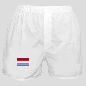 Luxemborg Flag Boxer Shorts