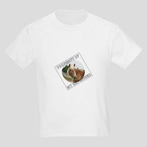 Property of my Haflinger Kids T-Shirt
