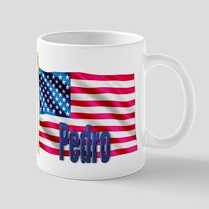 Pedro American Flag Gift Mug