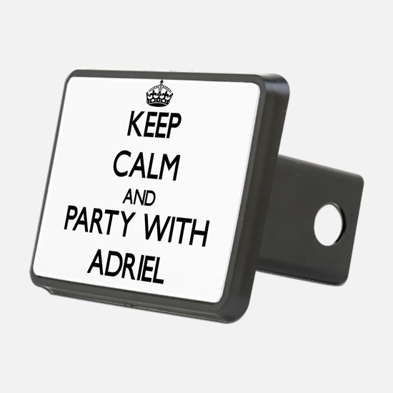 Keep Calm and Party with Adriel Hitch Cover